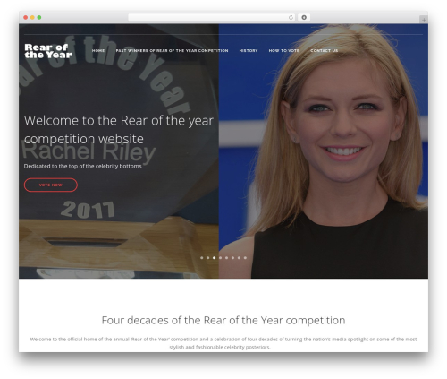 Theme WordPress Pivot - rearoftheyearcompetition.com