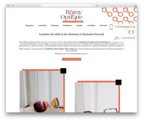 WordPress theme Auxane Opticiens - remy-opticiens.com