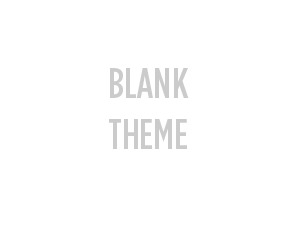 WordPress theme responsive (blank theme)