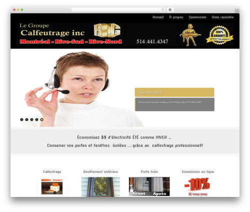 WP theme Asteria PRO - rgcalfeutrage.com/accueil