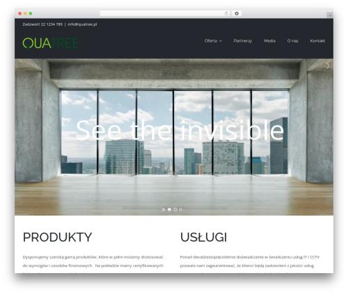 Avada WordPress theme - quatree.pl