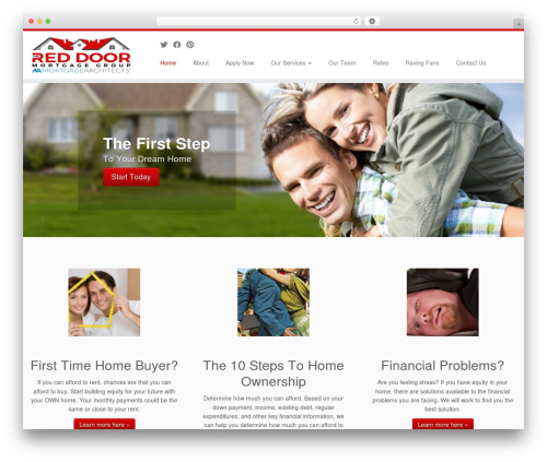 Free WordPress AddToAny Share Buttons plugin - reddoormortgage.com