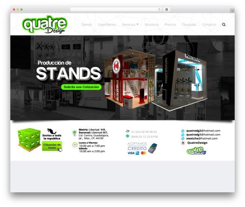 Tucson template WordPress - quatredesign.com