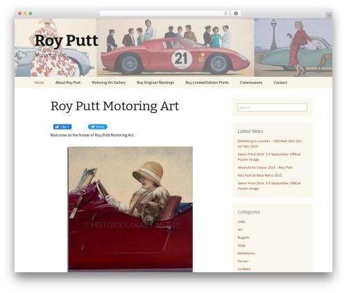 Twenty Thirteen WordPress theme download - royputt.com