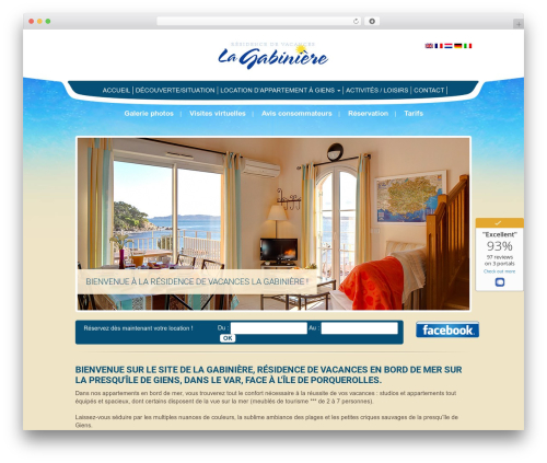 Free WordPress Widgetize Pages Light plugin - residence-lagabiniere.com