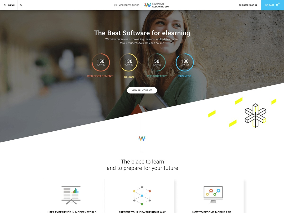 WordPress theme Course Builder Child