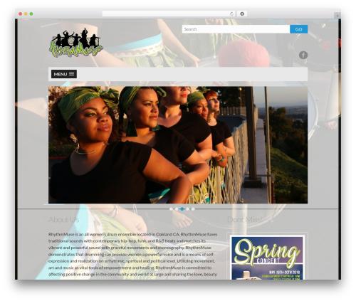 WordPress theme Dubstep - rhythmmusesound.com