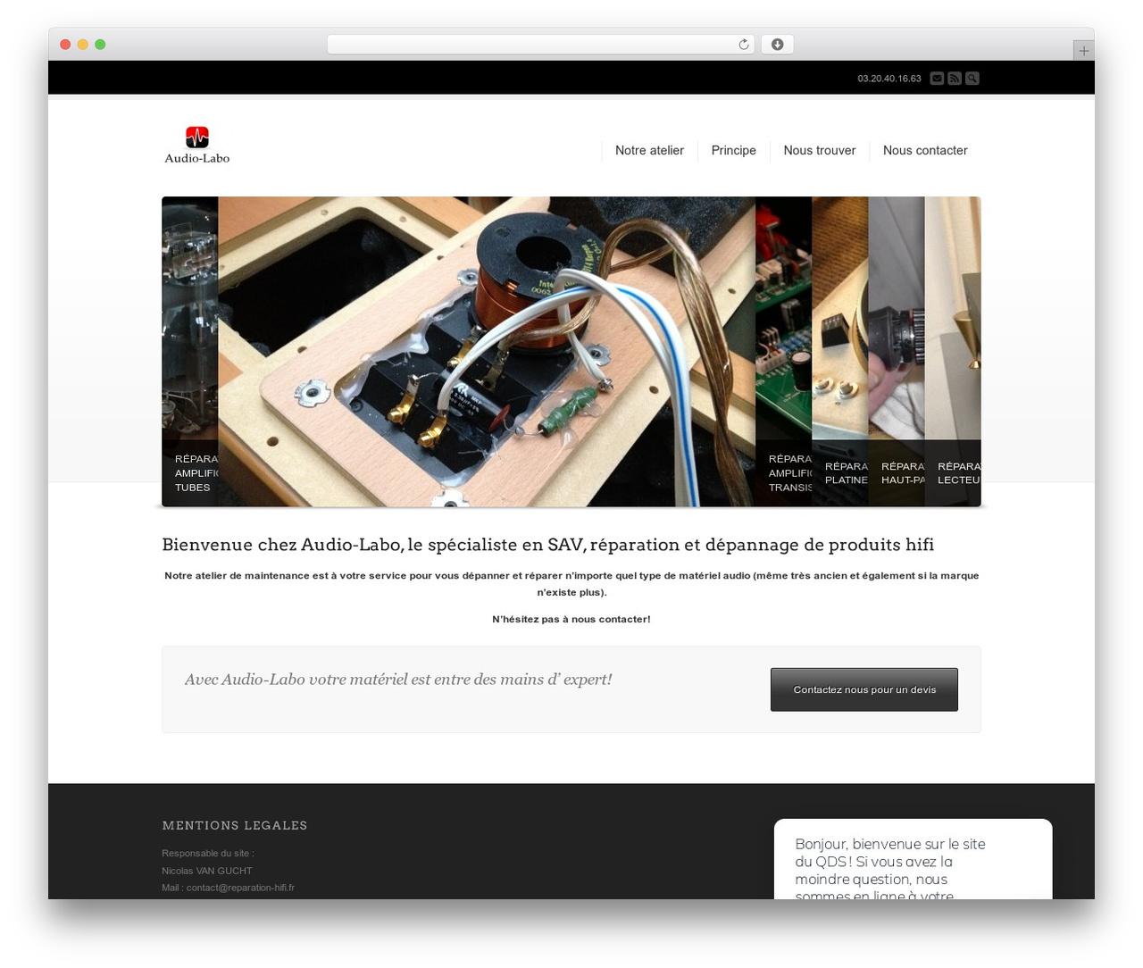 Best WordPress theme Corona - reparation-hifi.fr