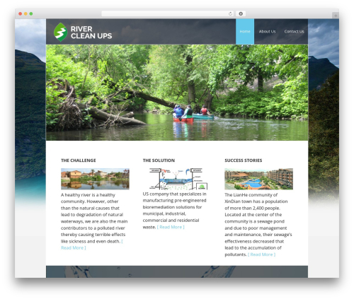 Best WordPress theme Executive Pro Theme - rivercleanups.com