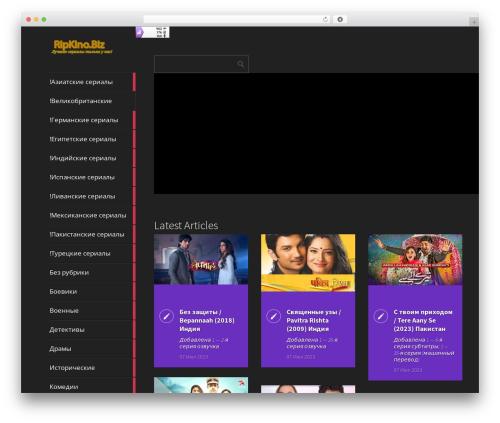Metro CreativeX WordPress template - ripkino.biz