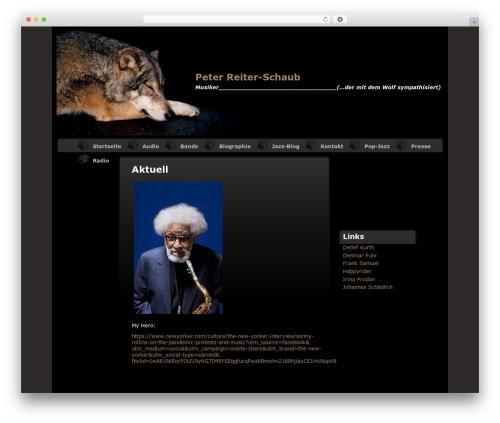 Varg WordPress theme - reiter-schaub.de