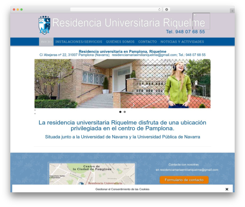 Best WordPress theme Campus - residenciariquelme.es