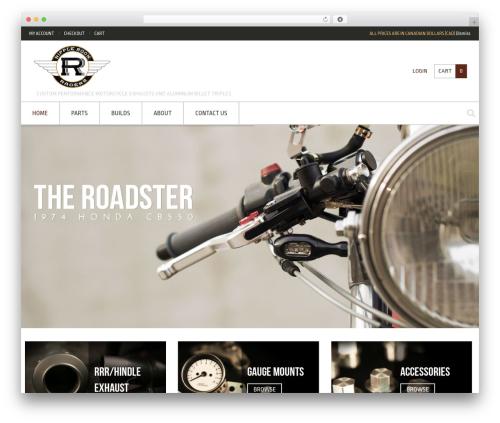 Crux theme WordPress - ripplerockracers.com
