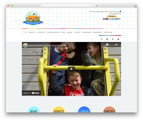 Kidslife best WordPress theme - rochdalechildrensmoorlandhome.org