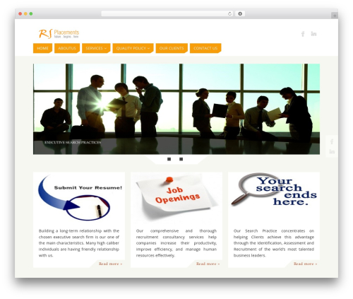 Parabola WordPress template free download - rsplacements.com