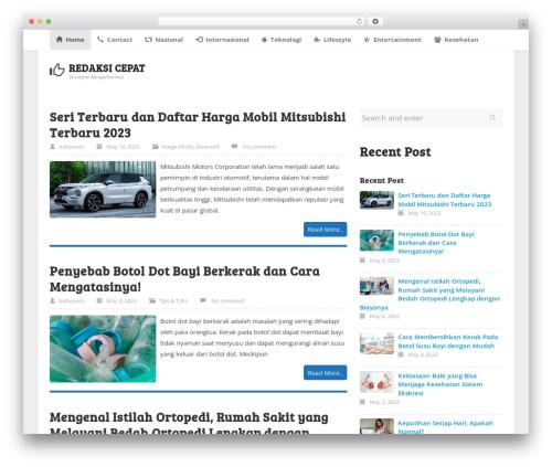 WordPress template ktz freak - redaksicepat.com