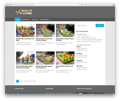 WordPress theme Portal by MyThemeShop - rumahbalonku.com