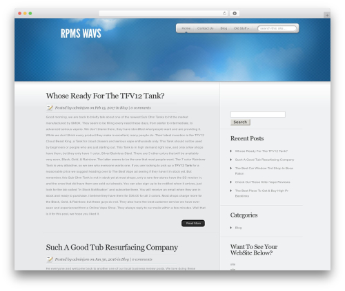 WP template MyProduct - rpmswavs.com