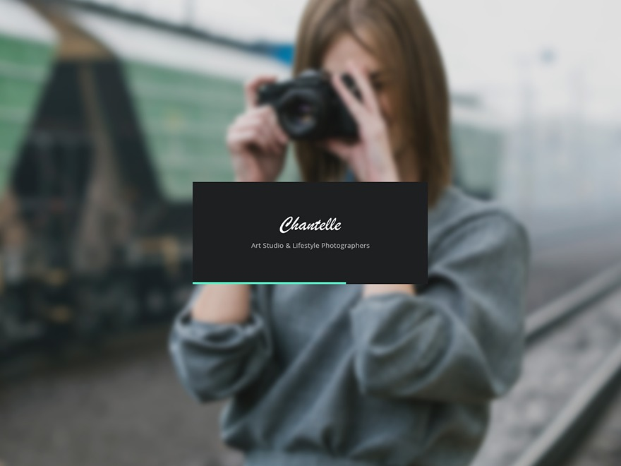 Chantelle WordPress theme image