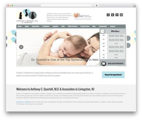 Doctor theme WordPress - quartellmd.com