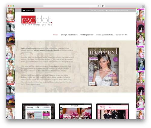Flawless theme WordPress - reddotpublications.co.uk