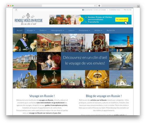 NOO Citilights best hotel WordPress theme - rendezvousenrussie.com