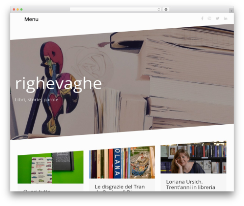 Oblique free website theme - righevaghe.it