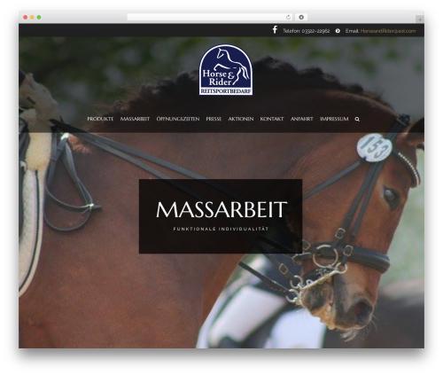Theme WordPress HorseClub - reitsport-horse-and-rider.de