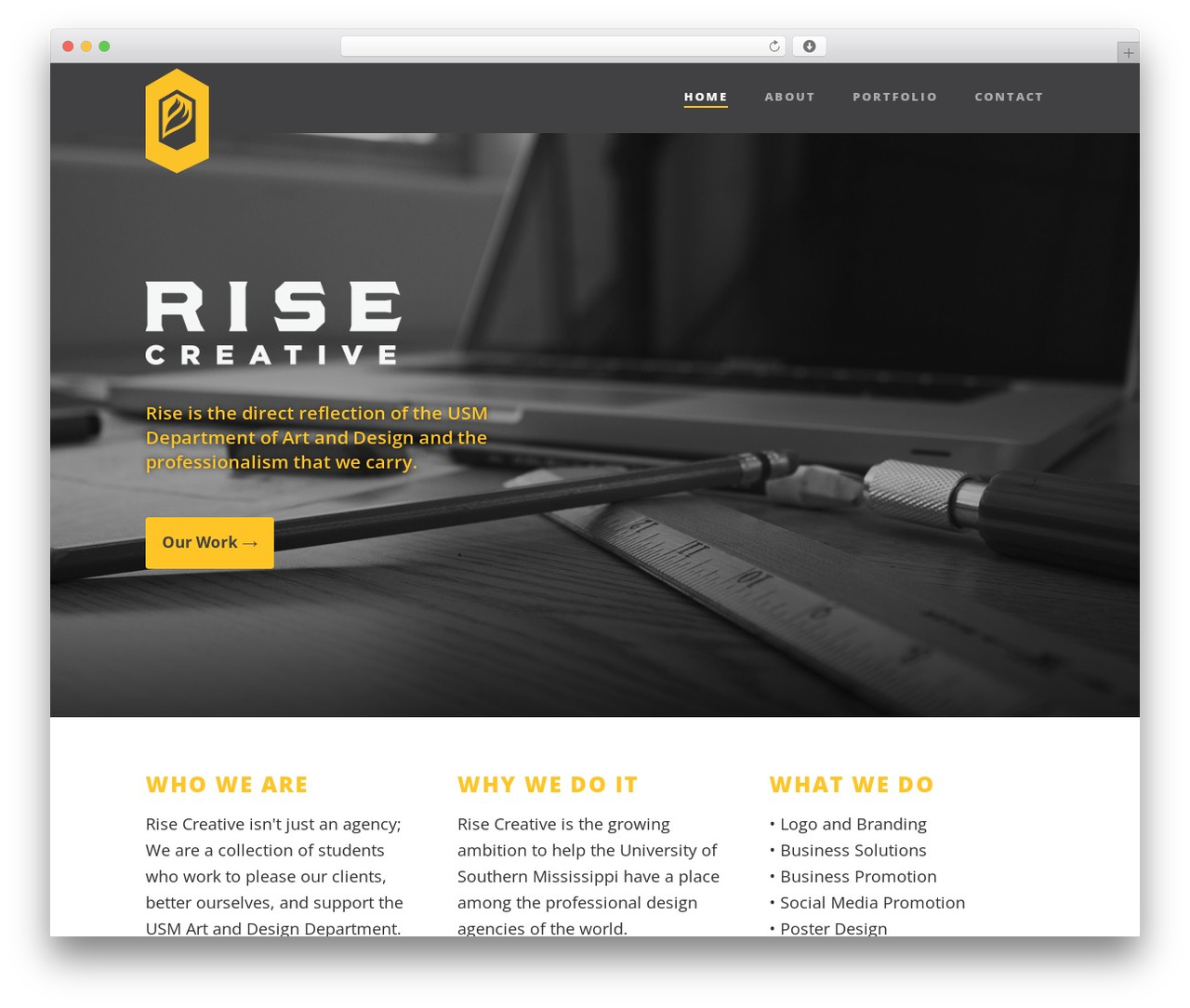 Theme WordPress Suite - risecreative.co