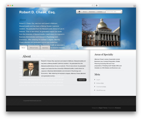 WP theme MyProduct - robchaselaw.com