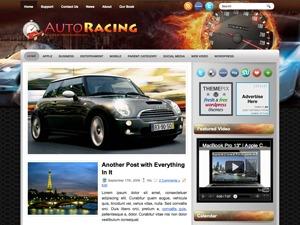 AutoRacing WordPress blog theme