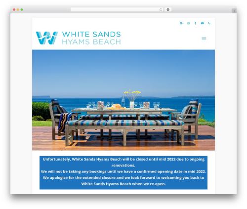 Betheme WP theme - whitesandshyamsbeach.com