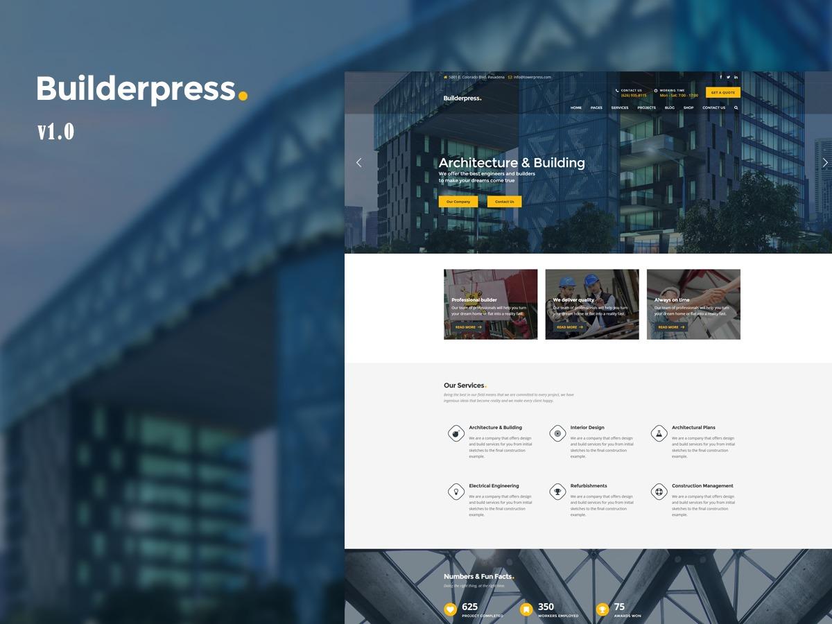 BuilderPress WordPress website template