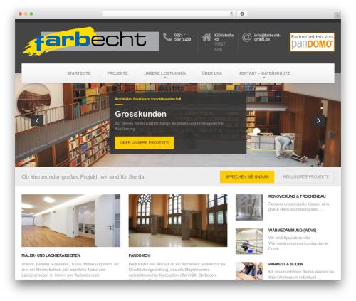 BuildPress WP Theme WordPress theme - farbecht-gmbh.de