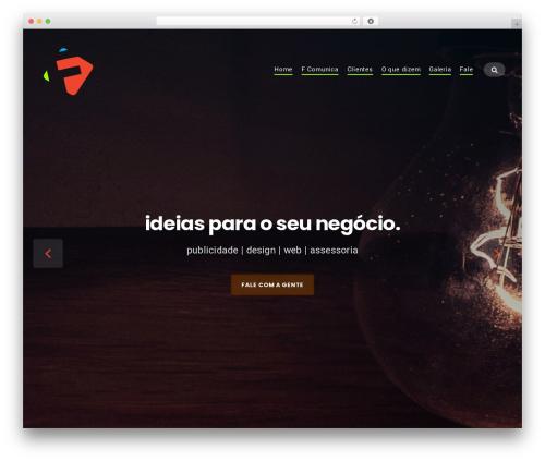 Businessx WordPress theme - fernandopaulino.com
