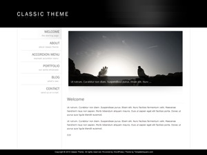 Classic Theme 3 top WordPress theme
