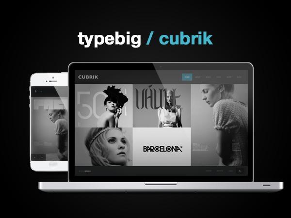 CUBRIK WordPress blog theme