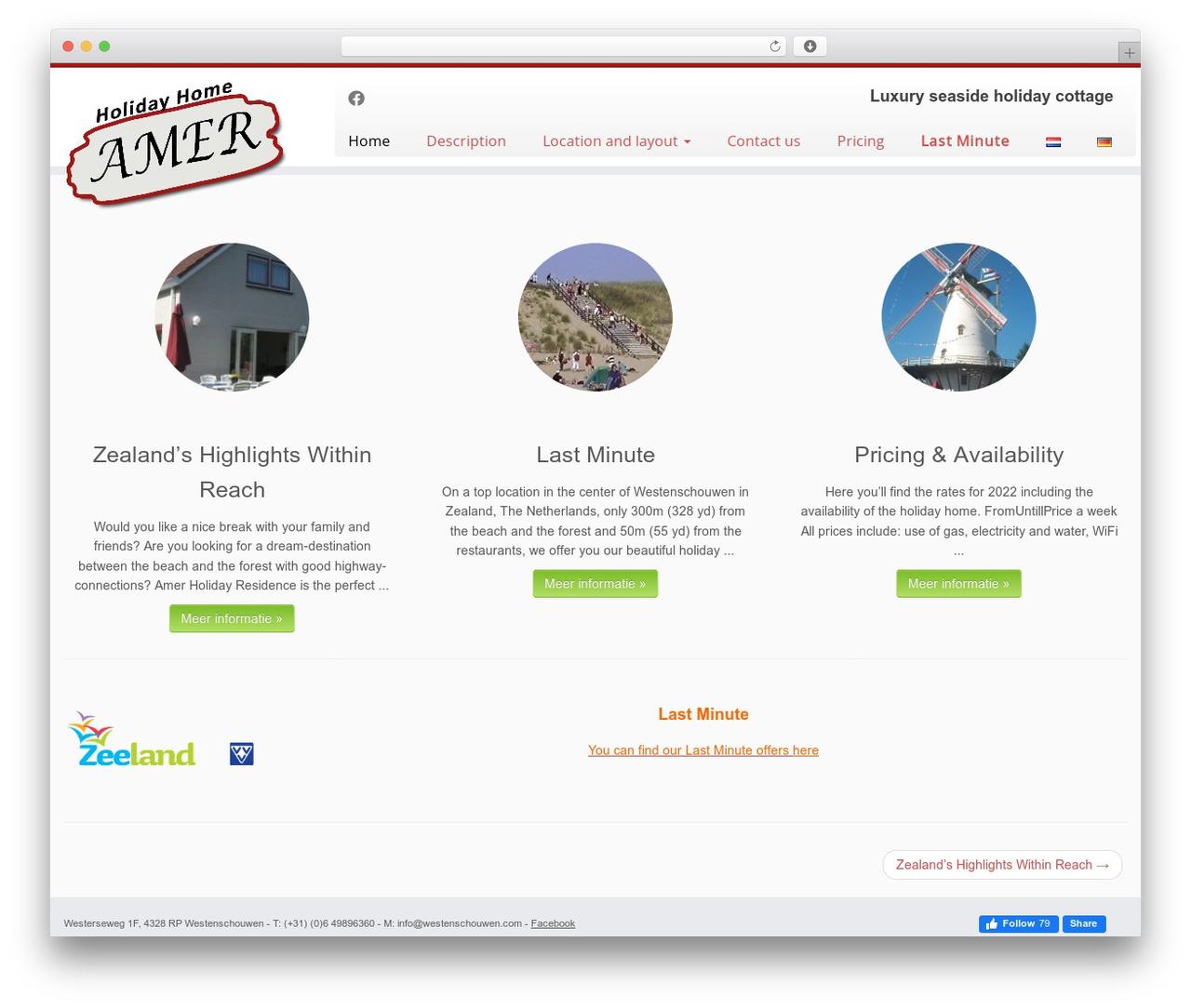 Customizr top WordPress theme - westenschouwen.com