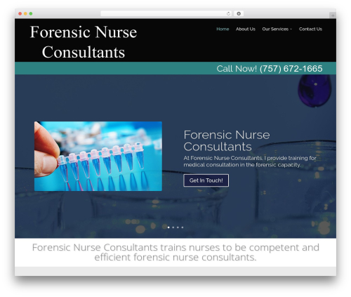 Divi-modified medical WordPress theme - forensicnursetrainingvirginiabeach.com