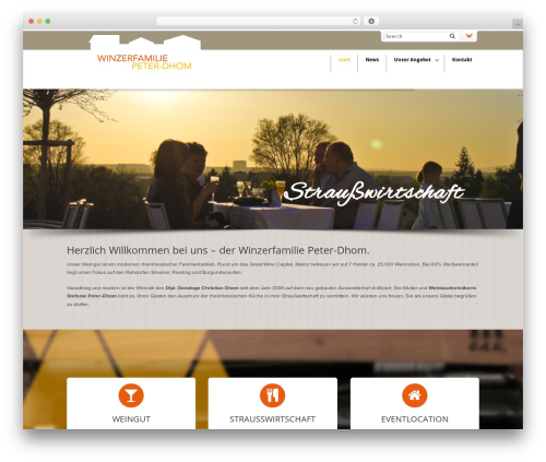 DynamiX WordPress theme - winzerfamilie-peter-dhom.de