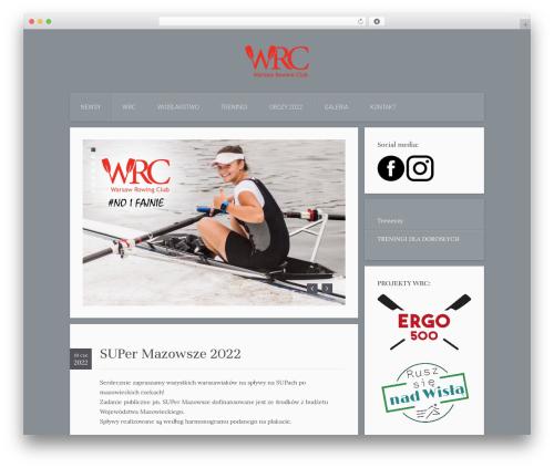 Everest WordPress template - warsawrowing.com