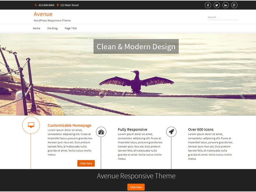 ferncliff WordPress theme