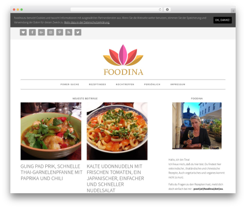 Foodie Pro Theme food WordPress theme - foodina.eu