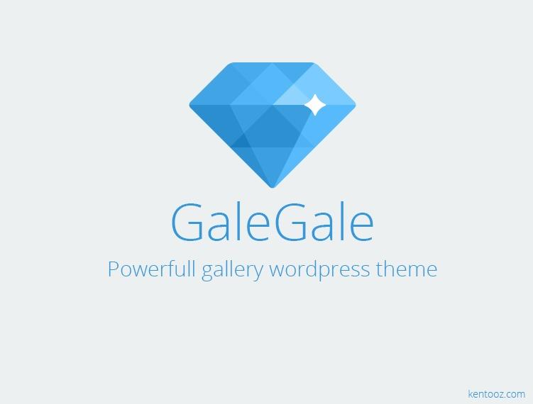 galegale WordPress gallery theme