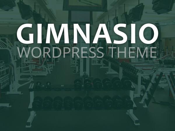 Gimnasio Wordpress Theme WP theme