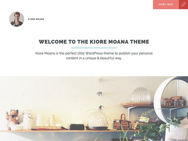 Kiore Moana WordPress photo theme