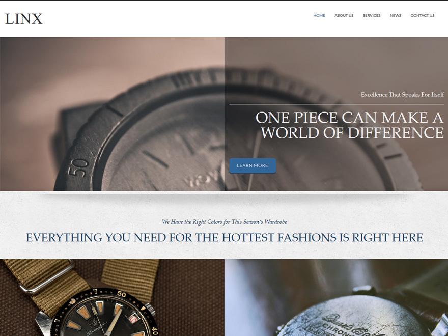 Linx WordPress theme
