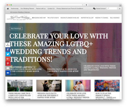 LiteMag by Bluthemes WordPress theme - westcoastweddingsireland.com