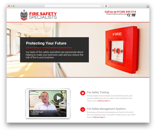 Micron WordPress template - fire-safety-specialists.co.uk