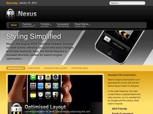 Nexus Wordpress Theme WordPress theme